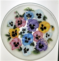 Pastel Pansy 15 inch Bowl