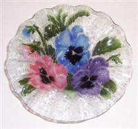 Pastel Pansy 7 inch Bowl