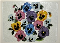 Pastel Pansy Large Tray (Insert Only)