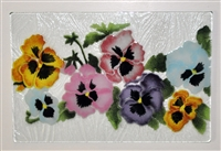 Pastel Pansy Small Tray (Insert Only)