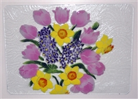 Pastel Spring Floral Large Tray (Insert Only)