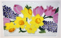Pastel Spring Floral Small Tray (Insert Only)