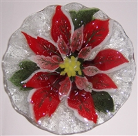 Poinsettia 7 inch Bowl