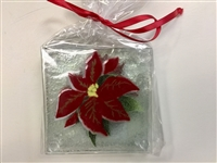 Poinsettia Coasters