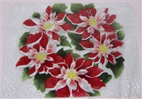 Poinsettia Large Tray (Insert Only)