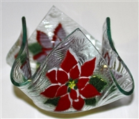 Poinsettia Small Candleholder