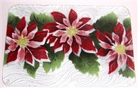 Poinsettia Small Tray (Insert Only)