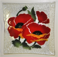 Poppy Large Square Platter