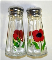 Poppy Salt and Pepper Shakers