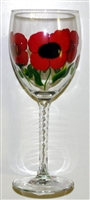 Poppy White Wine Glass
