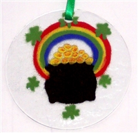 Pot O Gold Suncatcher