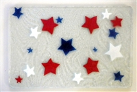 Red, White, and Blue Stars Small Tray (Insert Only)