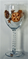 Sand Dollar White Wine Glass