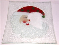 Santa Moon Large Square Plate