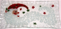 Santa Moon Rectangle Plate