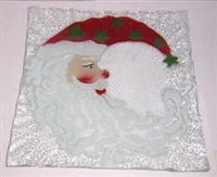 Santa Moon Small Square Plate