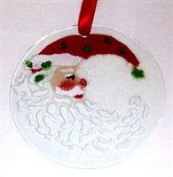 Santa Moon Suncatcher