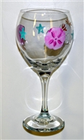Sea Shell Red Wine Glass