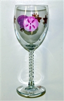 Sea Shell White Wine Glass