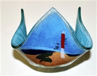 Small Barnegat Lighthouse Candleholder
