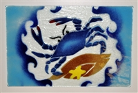 Small Blue Claw Crab Tray (Insert Only)
