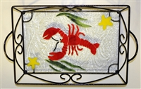 Small Lobster Tray (with Metal Holder)