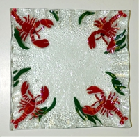 Small Square Lobster Plate