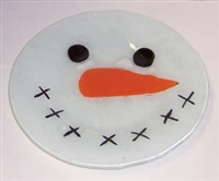 Snow Head 9 inch Plate