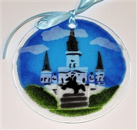 St. Louis Cathedral Suncatcher