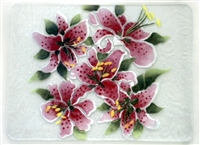 Stargazer Lily Large Tray (Insert Only)