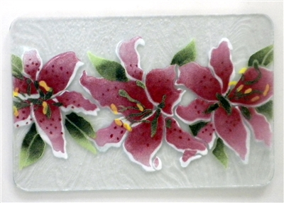 Stargazer Lily Small Tray (Insert Only)