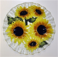 Sunflower 10.75 inch Plate