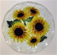 Sunflower 12 inch Plate