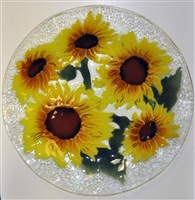 Sunflower 14 inch Platter
