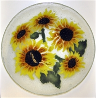 Sunflower 15 inch Bowl