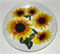 Sunflower 20 inch Platter
