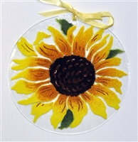 Sunflower 7 inch Suncatcher