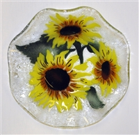 Sunflower 9 inch Bowl