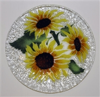 Sunflower 9 inch Plate
