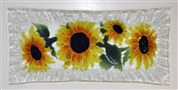 Sunflower Rectangle Plate