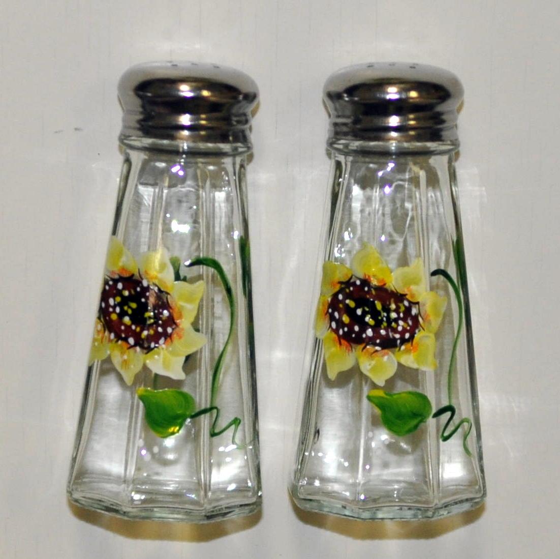 Sunflower Salt And Pepper Shakers