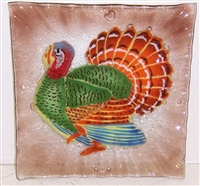 Turkey Small Square Plate
