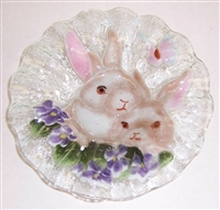 White Bunny 7 inch Bowl