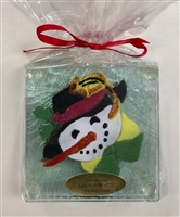 Woodland Snowman Coasters
