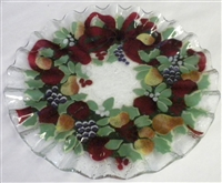 Williamsburg Wreath 10.75 inch Plate