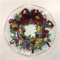 Williamsburg Wreath 12 inch Plate