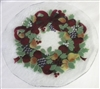 Williamsburg Wreath 14 inch Plate