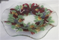 Williamsburg Wreath 9 inch Bowl