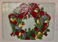 Williamsburg Wreath Large Tray (Insert Only)