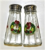 Williamsburg Wreath Salt and Pepper Shakers